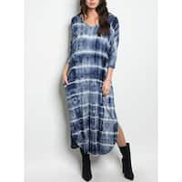 JED Women's Tie Dye Jersey Midi Dress