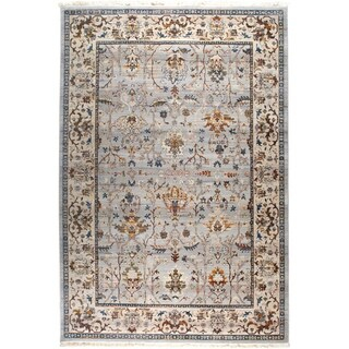 "Rutherford Distressed Beige Area Rug - 3'3""x5'2"""