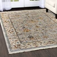"Rutherford  Distressed Ivory Area Rug - 9'2""x12'5"""