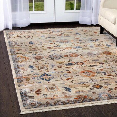 """Gray Abstract Rutherford Rug - 3'3""""x5'2"""""""