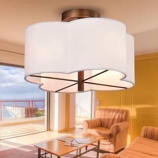 Living Room Flush Mount Lighting For Less Overstock - Living room flush mount lighting