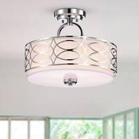 Spennz 5-Light Chrome Design Semi-Flush Mount Ceiling Lamp