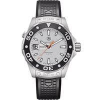 Tag Heuer Men's WAJ1111.FT6015 'Aquaracer' Black Rubber Watch