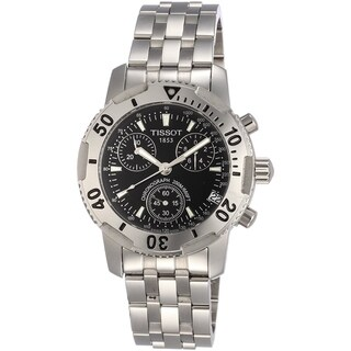 Tissot Men's T17148655 'PRS 200' Chronograph Stainless Steel Watch