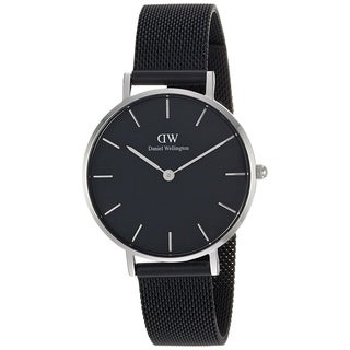 Daniel Wellington Women's DW00100202 'Classic' Petite Black Stainless Steel Watch