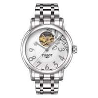 Tissot Women's  'Lady Heart' Automatic Open Wheel Stainless Steel Watch