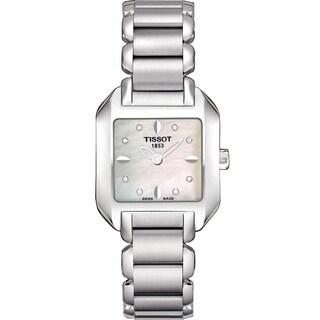 Tissot Women's T02128571 'T-Wave' Stainless Steel Watch