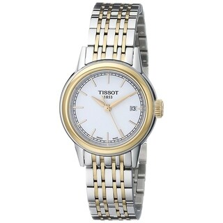 Tissot Women's T0852102201100 'Carson' Two-Tone Stainless Steel Watch