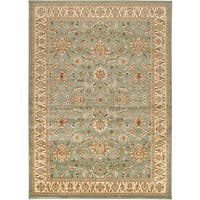 Laurel Creek James Border Area Rug - 5'3 x 7'6