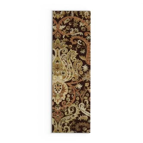 Copper Grove Elderbank Hand-tufted Semi-worsted New Zealand Wool Runner Rug