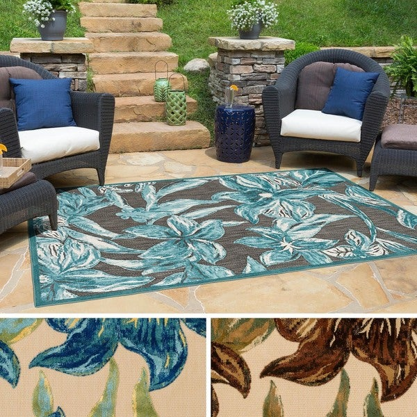 Copper Grove Gibbons Indoor/Outdoor Area Rug - 7'10 x 10'8