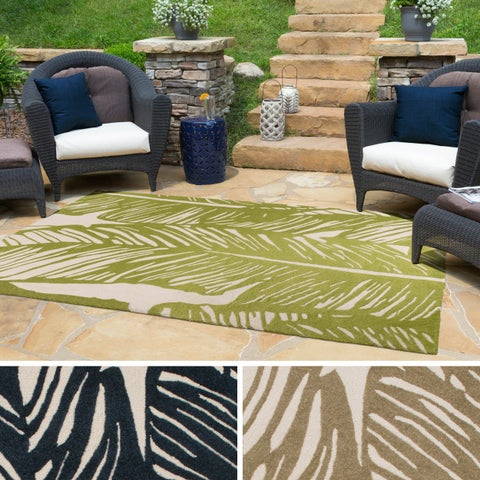 Carson Carrington Reykholt Hand-hooked Indoor/ Outdoor Area Rug
