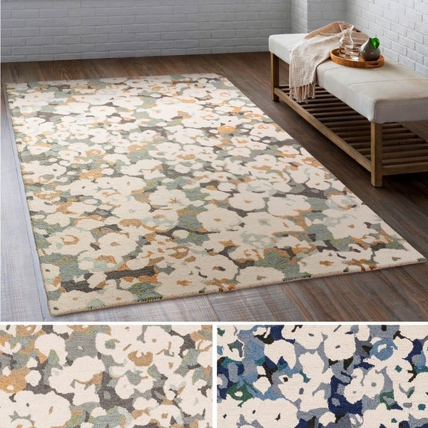Copper Grove Sundarban Hand-tufted Wool Area Rug