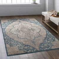 Laurel Creek Louis Indoor Medallion Area Rug