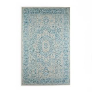 Copper Grove Sandbank Hand-hooked Wool Area Rug (Blue - 9 x 13)