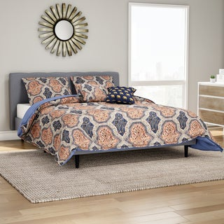 The Curated Nomad Waverly Floral Vine Duvet Cover Set