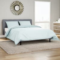 Organic 300 Thread Count Cotton 3-piece Duvet Set