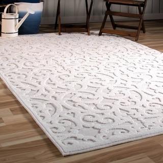 Carolina Weavers Royal Natural/Ivory Flat-woven Rug - 5'2 x 7'6