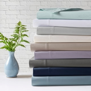 Madison Park Peached Percale Cotton Bed Sheet Set