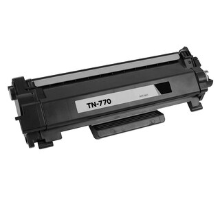 1PK Compatible TN770 Toner Cartridge NO CHIP For Brother HL-L2370DW HL-L2370DWXL MFC-L2750DW MFC-L2750DWXL ( Pack of 1 ) - Black