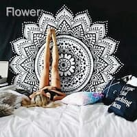Tapestry Wall Hanging Hippie Mandala Bohemian Cape Yoga Mats Beach Towels - N/A