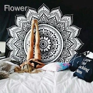 Link to Tapestry Wall Hanging Hippie Mandala Bohemian Cape Yoga Mats Beach Towels Similar Items in Decorative Accessories