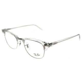 Ray-Ban Clubmaster RX 5154 Clubmaster 2001 Unisex White Transparent Frame Eyeglasses