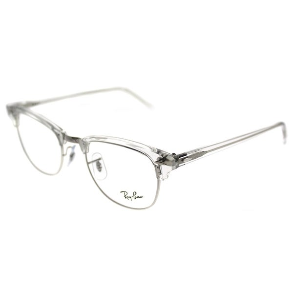 5c86ff60a8 Ray-Ban Clubmaster RX 5154 Clubmaster 2001 Unisex White Transparent Frame  Eyeglasses