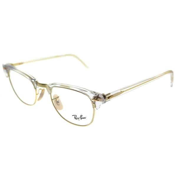 9d8420234a Ray-Ban Clubmaster RX 5154 Clubmaster 5762 Unisex Transparent Frame  Eyeglasses