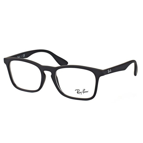 Shop Ray-Ban Square RY 1553 3615 Children Rubber Black Frame ...
