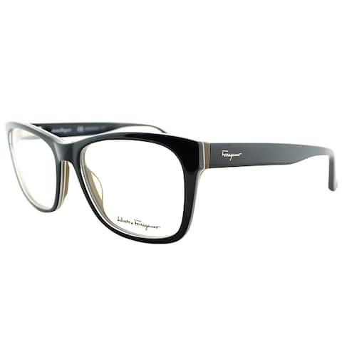 Salvatore Ferragamo Rectangle SF 2693 009 Unisex Black Frame Eyeglasses