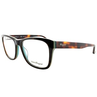 Salvatore Ferragamo Rectangle SF 2693 220 Unisex Torotise Green Frame Eyeglasses