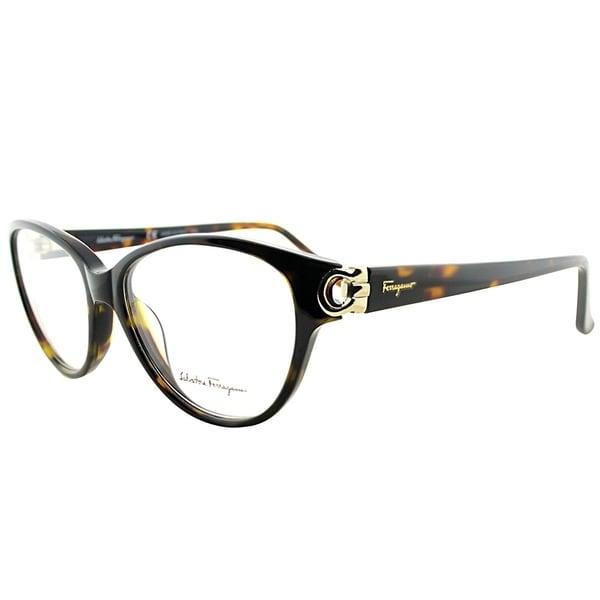 2fc5d4001f8 Salvatore Ferragamo Cat-Eye SF 2735 214 Women Tortoise Frame Eyeglasses