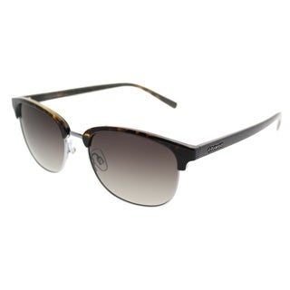 Polaroid Rectangle PLD 1012/S CBZ 94 Unisex Ruthenium Frame Blue Mirror Polarized Lens Sunglasses