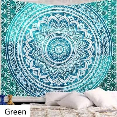 Bohemia Printing Tapestry Wall Hanging Bedspread Dorm Decor Beach Towel Yoga Mat