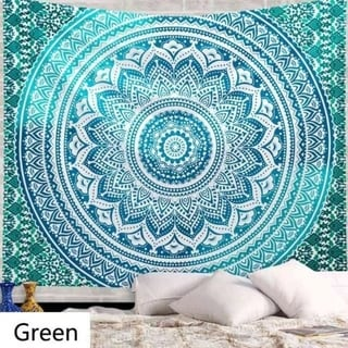 Link to Bohemia Printing Tapestry Wall Hanging Bedspread Dorm Decor Beach Towel Yoga Mat Similar Items in Blankets & Throws