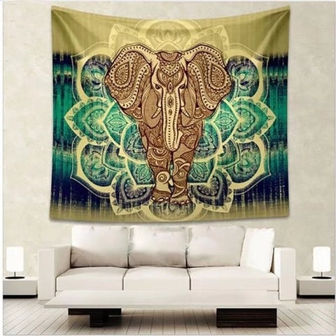 Bedspread Tapestry Beach Towel Wall Hanging Dorm Decor Yoga Mat