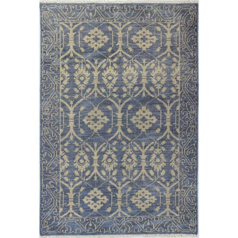 Olympia Transitional Hand Knotted Area Rug