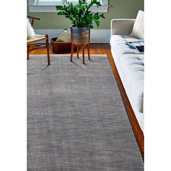 "Corinth Grey Transitional Area Rug - 7'6"" x 9'6"""