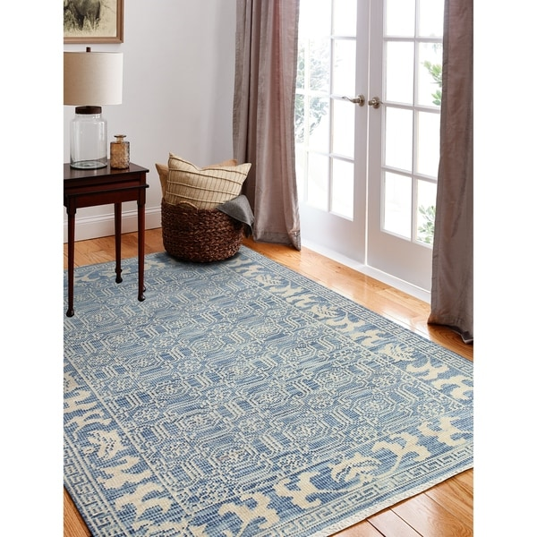 Delphi Transitional Hand Knotted Area Rug. Opens flyout.