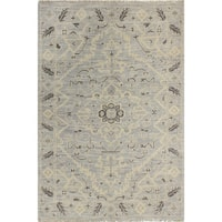 "Palmyra Silver Transitional  Area Rug - 7'6"" x 9'6"""