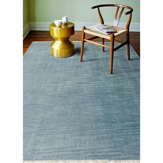 """Corinth Teal Transitional Area Rug - 3'6"""" x 5'6"""""""
