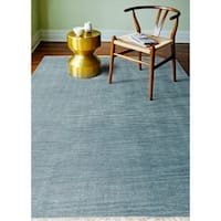 Corinth Teal Transitional  Area Rug - 5' x 7'6""