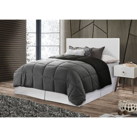 Glory Furniture White Faux Leather Adjustable Height Headboard