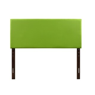Glory Furniture Size Green Faux Leather Adjustable Height Headboard