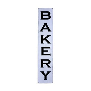 BAKERY Handmade Farmhouse Wall Art Vertical Wood Sign 10 in x 48 in