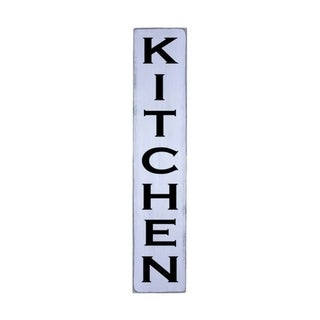 KITCHEN Handmade Farmhouse Wall Art Vertical Wood Sign 10 in x 48 in