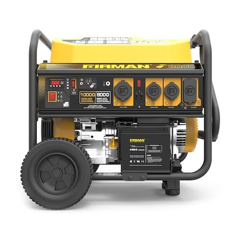 FIRMAN Power Equipment P08004 Gas Powered 10000/8000 Watt (Performance Series) Portable Generator with Remote Start/Stop