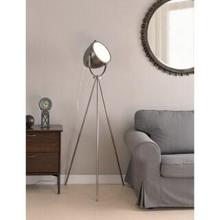"""Design Craft Focus 60.25"""" Floor Lamp - Antique Metal"""