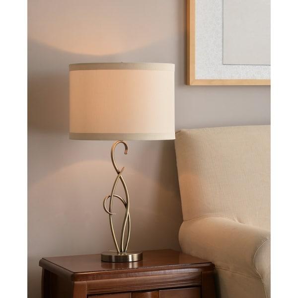 "Design Craft Wisp 28.25"" Table Lamp - Antique Brass"